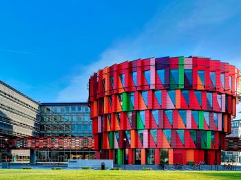 Presentationsbild för referensen Kuggen, Campus Lindholmen