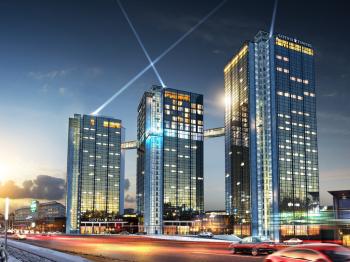 Presentationsbild för referensen Gothia Towers